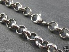 XL Edelstahl Erbskette massiv Halskette 11 mm Ø   45 cm bis 95 cm Schmuck Kette