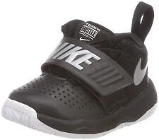 quality design 0c9b2 c6586 Nike TEAM HUSTLE D 8 (TD) Toddler Boys Black Silver 881943-001