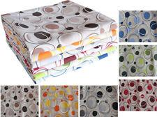 Tessuto Cotone Doppio Tappezzeria Bolle Astratte  280 x 280 cm Vari Colori