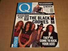 Q - AUG 1991 - BLACK CROWES / DEACON BLUE / CHER / PAUL WELLER / CONNICK / REID