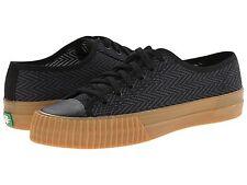 PF FLYERS PM15OL1E CENTER LOW ZIG ZAG Mn's (M) Black Canvas Skate Shoes