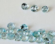 Aquamarine Round Faceted Stones  2.7-3.0 mm.    One Piece