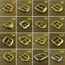 Solid Brass   Copper   Stainless Steel Belt Pin Buckles Mens Women Belt  Buckle e2c37c9b4ec