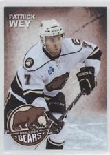 2013-14 The Patriot-News Hershey Bears #7 Patrick Wey (AHL) Rookie Hockey Card