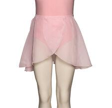 Mujer Niña Rosa Pálido Básico Falda De Ballet Todas Las Tallas De Katz KDGS03