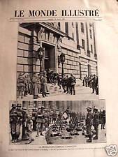 LE MONDE ILLUSTRE 1920 N 3249 LA REVOLUTION A BERLIN