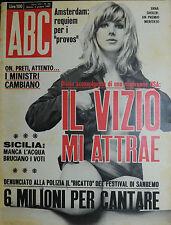 """ ABC : N° 23 / 04/GIU/1967 - ERNA SHOLER - al verso PENNY BROWN """