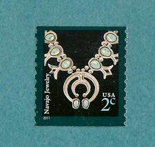 3758B Navajo Jewelry   2011 MNH OG     Coil Single 2c
