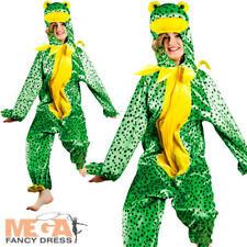 Frog Jumpsuit Adults Fancy Dress Animal Nature Book Week Mens Ladies Costume