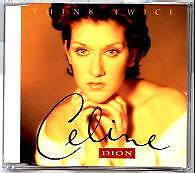 Celine Dion - Think Twice - Deleted 1993 UK 4 track CD