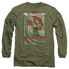 Batman Botanical Beauty Mens Long Sleeve Shirt