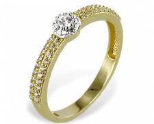 ECHT GOLD *** Eleganter Zirkonia Ring Goldring Größenauswahl