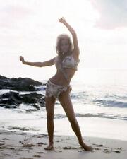 RAQUEL WELCH ONE MILLION YEARS B.C. BAREFOOT ON BEACH IN BIKINI POSE PHOTO OR PO