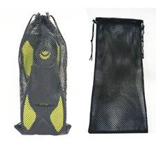Mesh Drawstring Storage Bag Diving Gear Dive Fins Snorkel Goggles Mask Pouch AU