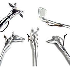telmo Schuhanzieher HUND, HIRSCH, PFERD, KUH oder Golfschläger ca. 50cm Metall