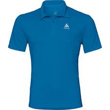 Odlo CARDADA Poloshirt Herren, Outdoor Polo Shirt, nebulas blue