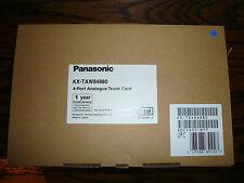 Brand New Panasonic KX-TAW84880 4-PORT ANALOG TRUNK CARD
