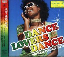 Dance Lovers Dance World Ragga Hits - Japan CD NEW LUST