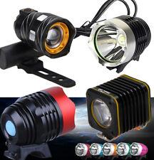 LED Fahrrad Licht Scheinwerfer Fahrradbeleuchtung Fahrradlampe Front Leuchte