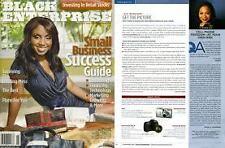 Magazine Black Enterprise November 2007 Small Business Success Guide Rochelle