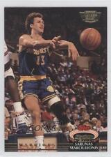 1992-93 Topps Stadium Club Members Only 181 Sarunas Marciulionis Basketball Card