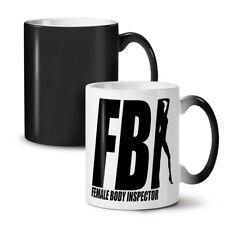 Offensiva dell'FBI scherzo divertente NUOVO colore modifica Tè Tazza Da Caffè 11 OZ (ca. 311.84 g) | wellcoda
