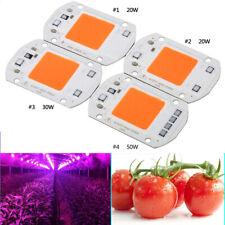 20/30/50W Full Spectrum LED COB Chip Grow Light Plant Growing Lamp Bulb 220V XX
