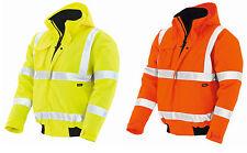 Texxor Warnschutz Pilotenjacke orange WHISTLER gelb Arbeitsjacke Jacke S-3XL