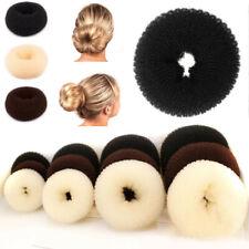 Women Magic Hair Ring Donut Bun Former Shaper Roll Styler Maker Tool DIY Stylish