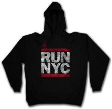 Run NYC Hoodie Maglione New York City Run Fun Dmc maratona ghetto Hip Hop