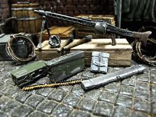 Modellbau WWII RC Panzer LKW Diorama Deko Zubehör Kit Maschinengewehr MG 42 MG42