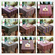 Ethnic Cotton Linen Fabric Bohemian Clothing Fabrics Table Sofa DIY Cloth
