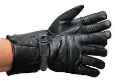 Premium Gauntlet 7 Sizes LAMBSKIN Motorcycle Winter Riding Gloves VL400