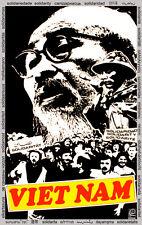 Solidarity POSTER quality print.Vietnam Ho Chi Minh.Political room decor.q941