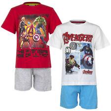 Set Pijama Ropa De Dormir Niños Marvel el vengador Blanco Gris Rojo 104 116 128
