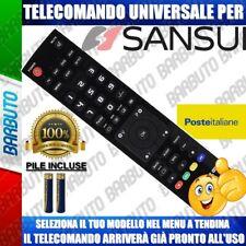 TELECOMANDO UNIVERSALE SANSUI; CLICCA SUL TUO MODELLO E LO RICEVERAI GIA PRONTO