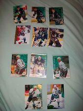 Vintage Mighty Ducks hockey cards lot 1995 Tverdovsky Carnback Karpov Corkum etc