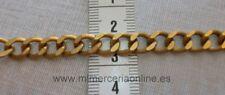 Cadena color oro viejo o  plata vieja, 8 mm