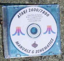 Atari 2600/7800/5200 Owners Manuals plus on CDROM