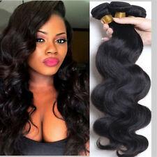 1 Bundles Brazilian Virgin Remy Human hair Body Wave Weave Extensions 100g UK