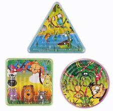 Maze Animali Giungla Puzzle 7CM LEONE Scimmia Zebra Regalo Buste per festa