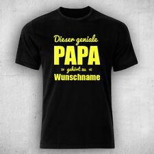 Dieser geniale PAPA gehört zu WUNSCHNAME- T-Shirt! z.B. für Vatertag