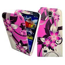 para Samsung Galaxy S4 Mini Rosa Crema Flor Diseño Impreso