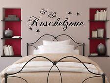 Wandtattoo Schlafzimmer Kuschelzone Nr.7 Wallsticker Kinderzimmer Wandspruch ***