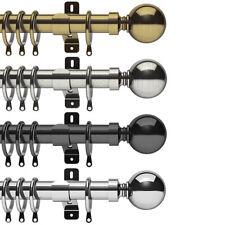Swish Elements Belgravia 35mm Complete Metal Curtain Pole Set