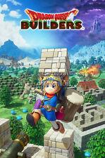 RGC Huge Poster - Dragon Quest Builders PS4 PS3 Vita - EXT513