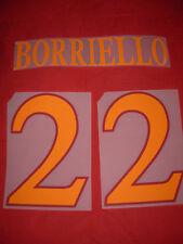 KIT BORRIELLO 22 ARANCIO X MAGLIA CALCIO ROMA KAPPA NUOVO