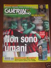 GUERIN SPORTIVO 2002/43 MILAN ALIENO ! CASSANO MAZZOLA