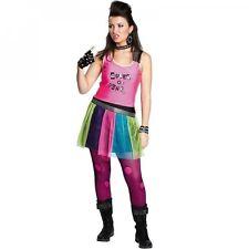 Punkergirl - Kleid - Größe: 32 - 38 - ohne Zubehör - Karnevalskostüm