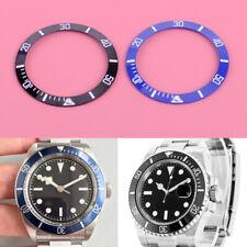 38mm Spring Ceramic Bezel Ring Insert For 40mm GMT Watch Changeable Black/Blue